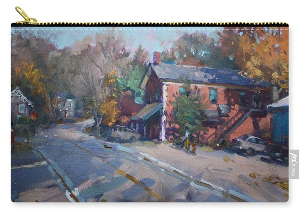 Copper Kettle Pub In Glen Williams On Carry-all Pouch