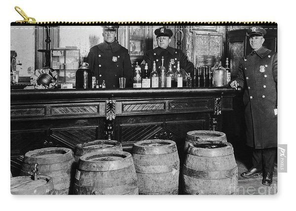 Cops At The Bar Carry-all Pouch