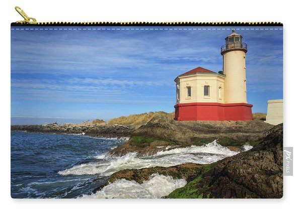Coquille River Lighthouse At Bandon Carry-all Pouch