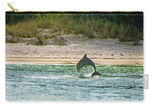 Coquina Dolphin Carry-all Pouch