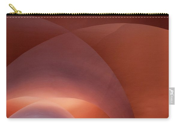 Coral Arched Ceiling Carry-all Pouch