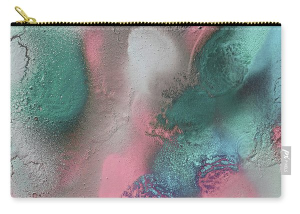 Coral, Turquoise, Teal Carry-all Pouch