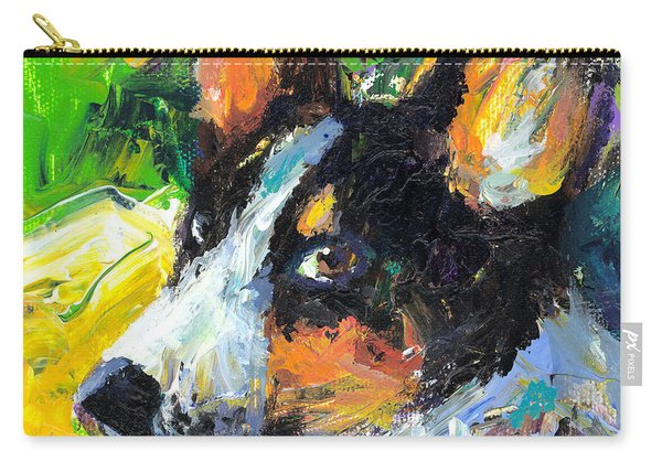 Corgi Dog Portrait Carry-all Pouch