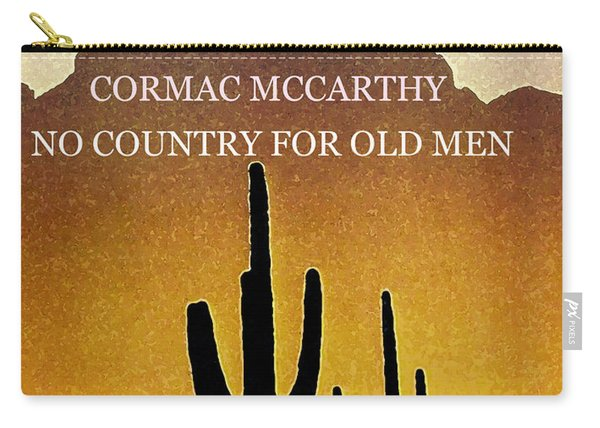 Cormac Mccarthy Poster  Carry-all Pouch