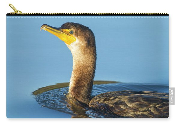 Cormorant Reflection Carry-all Pouch