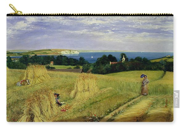 Corn Field In The Isle Of Wight Carry-all Pouch