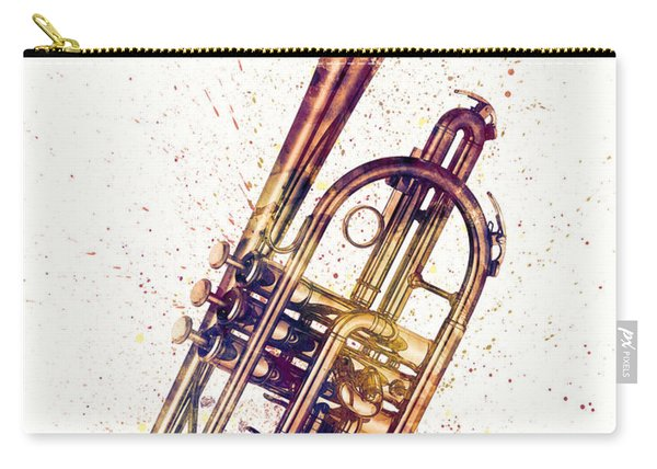 Cornet Abstract Watercolor Carry-all Pouch