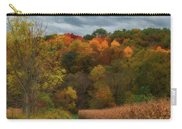 Cornfield In Fall  Carry-all Pouch