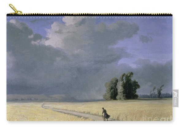 Cornfield Near Calais  Carry-all Pouch