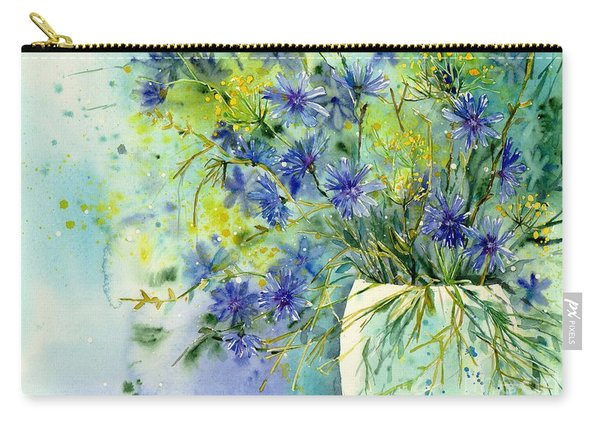 Cornflowers Symphony Carry-all Pouch