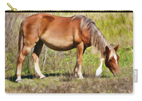 Corolla's Wild Horses Carry-all Pouch