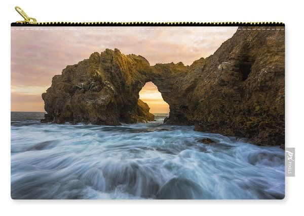 Carry-all Pouch featuring the photograph Corona Del Mar by Dustin  LeFevre