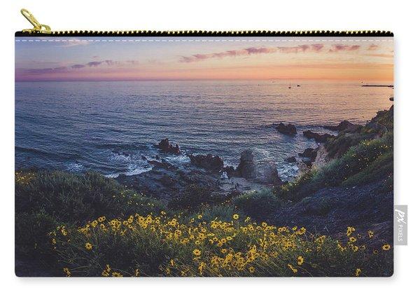 Corona Del Mar Super Bloom Carry-all Pouch