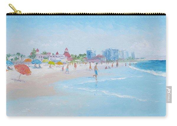 Coronado Beach San Diego Carry-all Pouch