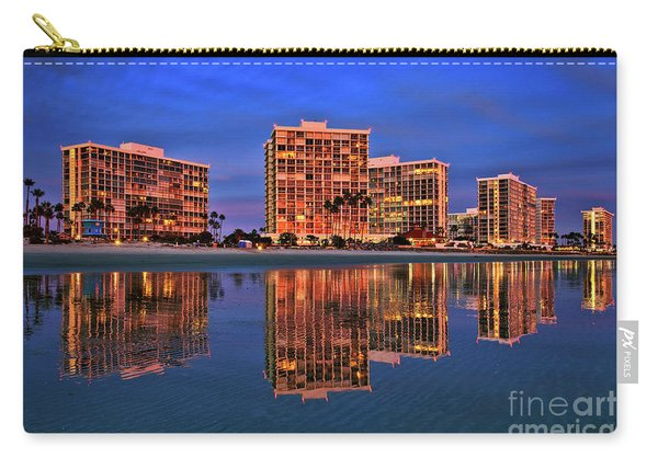 Carry-all Pouch featuring the photograph Coronado Glass by Sam Antonio Photography