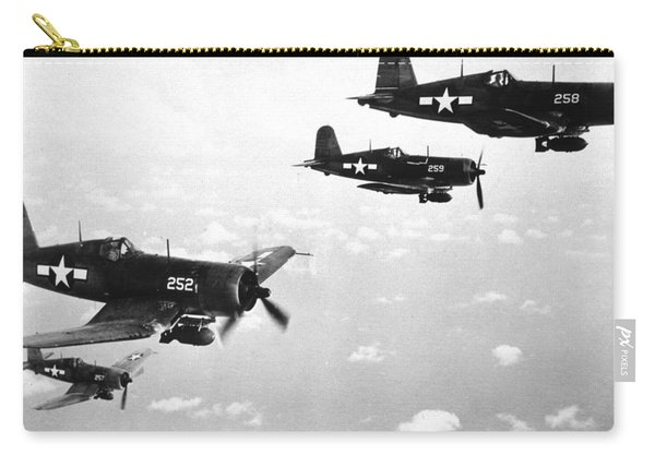 Corsair Planes  Us Airforce Carry-all Pouch