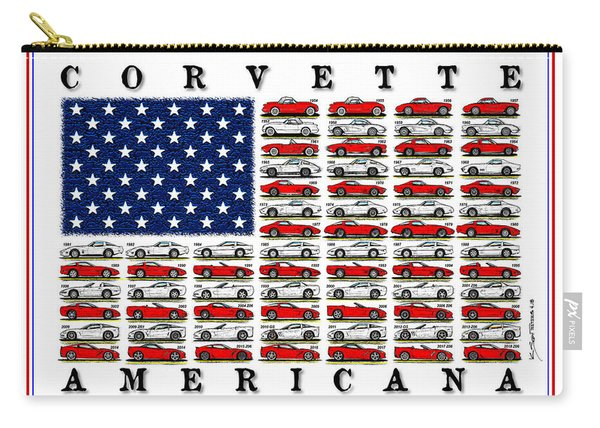 Corvette Americana Carry-all Pouch