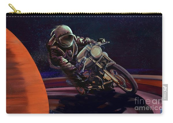 Cosmic Cafe Racer Carry-all Pouch