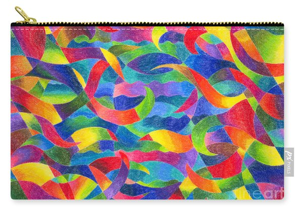 Cosmic Ribbons Carry-all Pouch