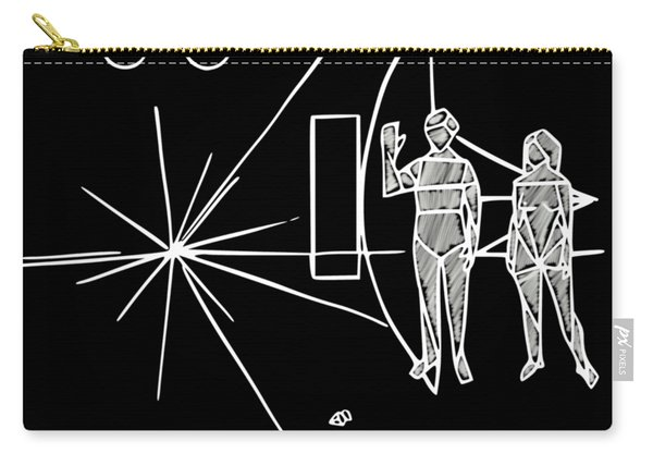 Cosmos Greetings  Carry-all Pouch