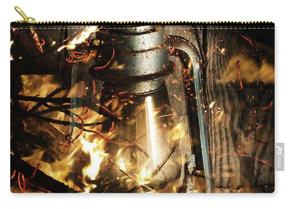 Cosy Open Fire. Cottage Artwork Carry-all Pouch