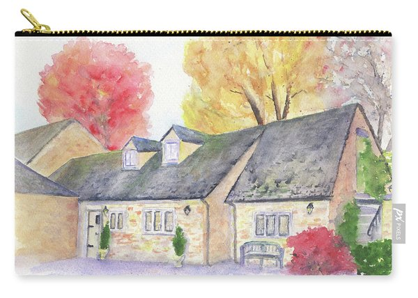 Cotswolds Cottage Carry-all Pouch