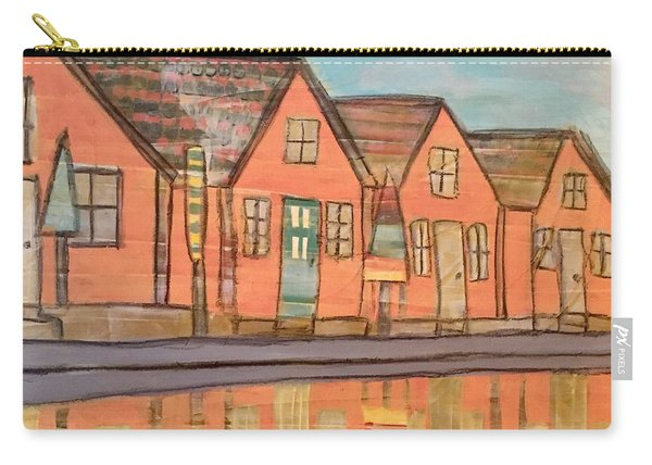 Cottages By The Beach Carry-all Pouch