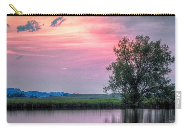 Cotton Candy Sunrise Carry-all Pouch