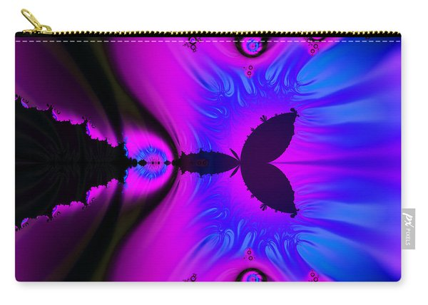 Cotton Candyland Fractal Carry-all Pouch