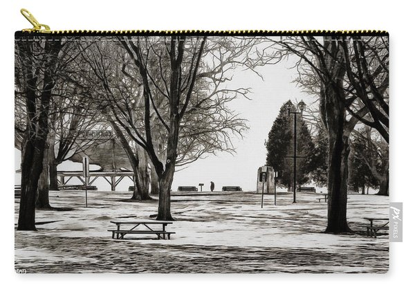 Couchiching Park In Pencil Carry-all Pouch