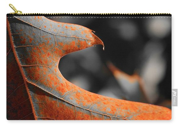 Cougar Rusty Leaf Detail Carry-all Pouch
