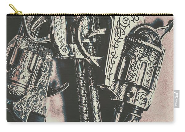Country And Western Pistols Carry-all Pouch
