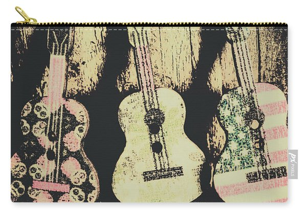 Country And Western Saloon Songs Carry-all Pouch