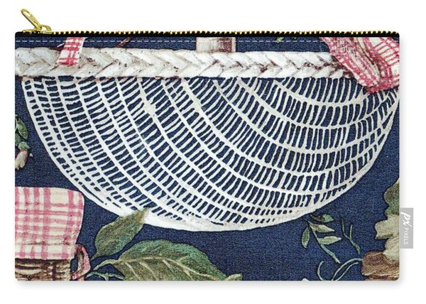 Country Basket Carry-all Pouch