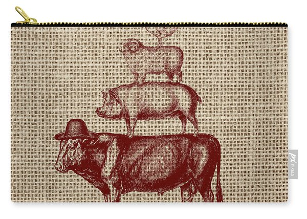 Country Farm Friends 2 Carry-all Pouch