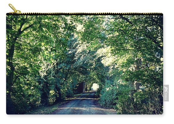 Country Lane, Tree Tunnel Carry-all Pouch