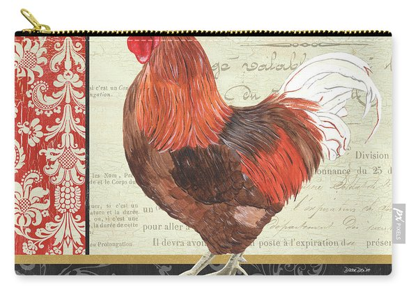 Country Rooster 2 Carry-all Pouch