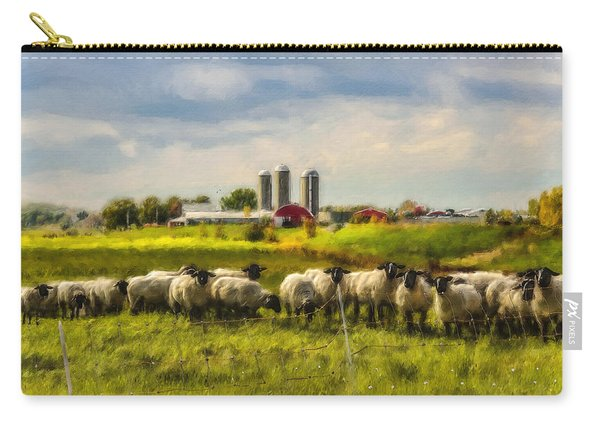 Country Sheep Carry-all Pouch