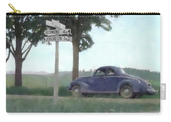 Coupe In The Countryside Carry-all Pouch