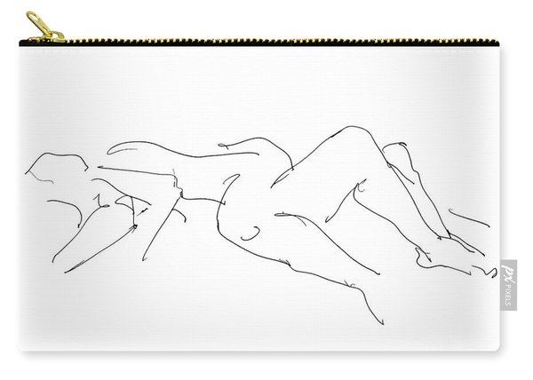 Couples Erotic Art 4 Carry-all Pouch