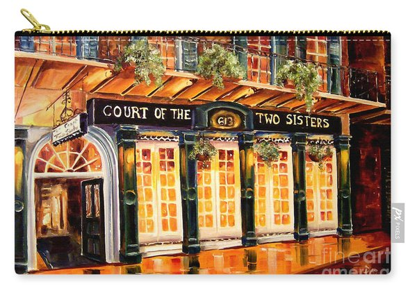 Court Of The Two Sisters Carry-all Pouch
