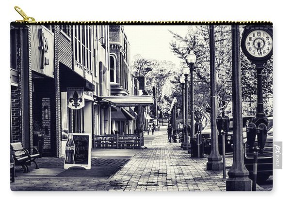 Court Street Clock Florence Alabama Carry-all Pouch