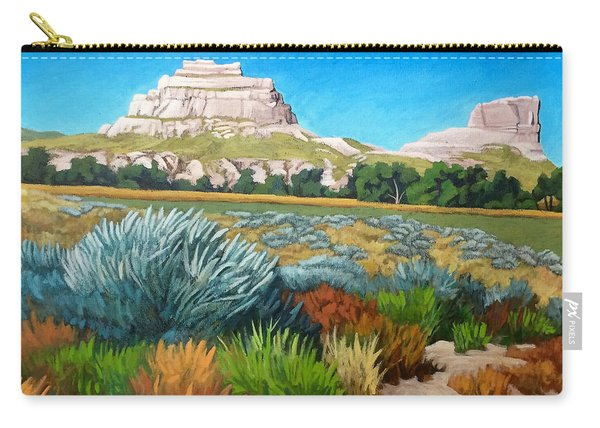 Courthouse And Jail Rocks Acrylic Carry-all Pouch