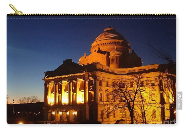 Courthouse At Night Carry-all Pouch