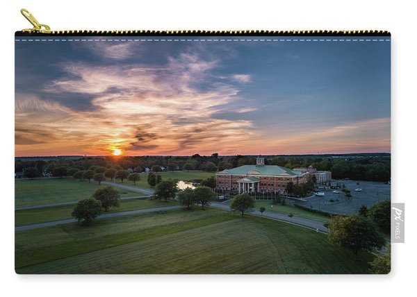 Courthouse Sunset Carry-all Pouch