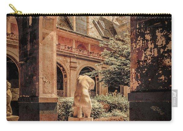 Paris, France - Courtyard East - L'ecole Des Beaux-arts Carry-all Pouch