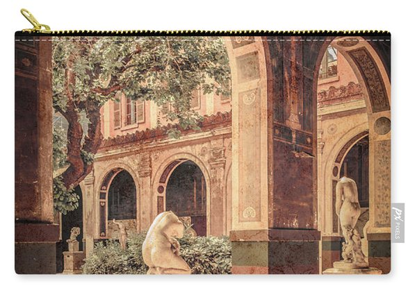 Paris, France - Courtyard West - L'ecole Des Beaux-arts Carry-all Pouch