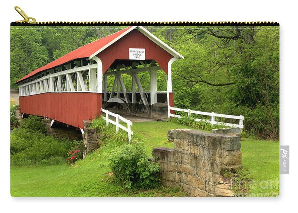 Covered Bridge In Middlecreek Township Carry-all Pouch
