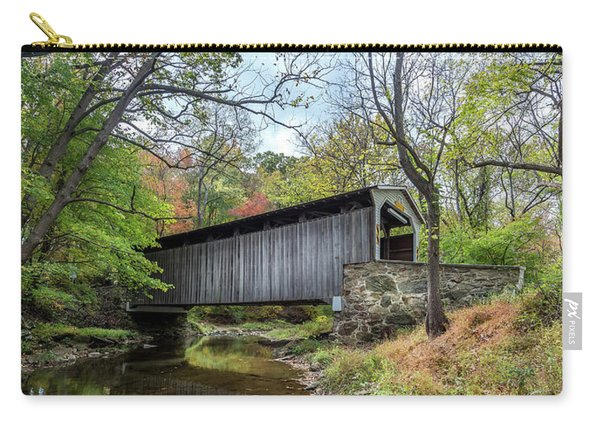 Covered Bridge In Pennsylvania During Autumn Carry-all Pouch