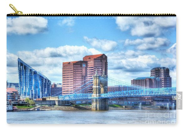 Covington Kentucky Skyline Carry-all Pouch